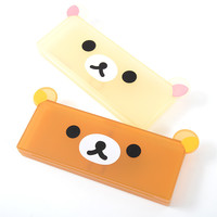 Rilakkuma Face Pen Cases