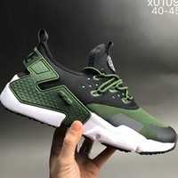 NIKE AIR HUARACHE 6 generations of casual sports fashion shoes F-CSXY green