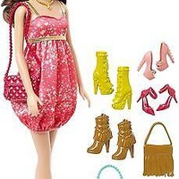 Barbie Teresa Doll and Shoes Giftset