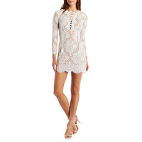 Dress Forum Scalloped Lace Dress