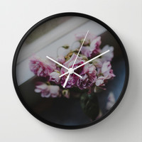 The quiet morning Wall Clock by Hello Twiggs