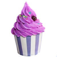 Berry Fizz Seasonal Cupcake Bath Bomb