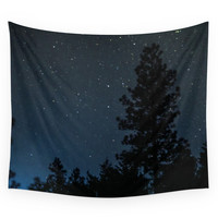 Society6 Starry Night Sky Photo Wall Tapestry