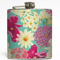 Madison  - Retro Flower Flask