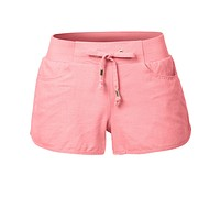 Lightweight Casual Basic Linen Shorts with Elastic Waist (CLEARANCE)