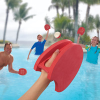 The Pool Paddleball Playset