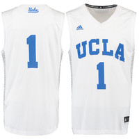 #12 UCLA Bruins adidas Iced Out Replica Jersey - White