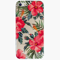 Ankit Hibiscus Iphone 5/5S Case Multi One Size For Women 26282295701