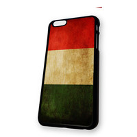 Vintage Retro Classic Italy Flag iPhone 6 case