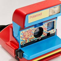 Polaroid Originals Refurbished 600 96 Cam Fresh Red Instant Camera | Urban Outfitters