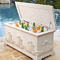 Acanthus Cooler Bench