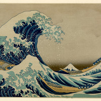 The Great Wave Kanagawa Oki Nami Ura