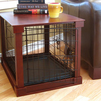 Dog Cage with Crate Cover