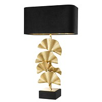Gold Ginkgo Table Lamp | Eichholtz Olivier