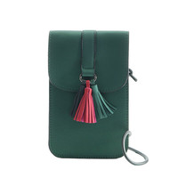 Tassel Stylish 5.5inch Phone Bag Shoulder Bag Crossbody Bag Purse