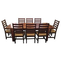 Pre-owned Restoration Hardware Dining Room Table & 8 Chairs