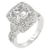 Palisades Classic Clear Ring, size : 09