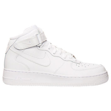 Kids' Grade School Nike Air Force 1 Mid Casual Shoes