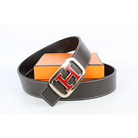 Hermes belt men's and women's casual casual style H letter fashion belt169