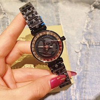 Louis Vuitton LV Classic mechanical watch diamond men and women waterproof quartz watch