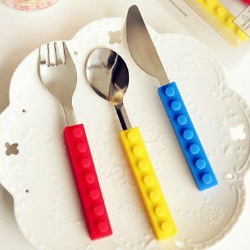 Stainless Steel Travel Kids Adult Cutlery