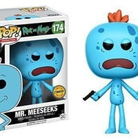 Funko Pop A. Rick and Morty Mr Meeseeks 174 12441 Chase