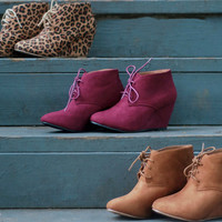 Wedge Oxfords | Leopard | Shoes | Fall