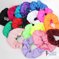 Tappers and Pointers Nylon Lycra Scrunchies