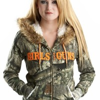 GWG Fur Hoodie - Mossy Oak Treestand® | Girls with Guns Clothing