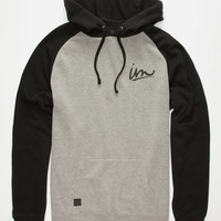 Imperial Motion Underline Mens Hoodie Black  In Sizes