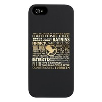 The Hunger Games - Catching Fire iPhone 5 Case