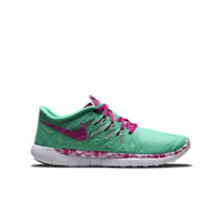 Nike Free 5.0 Print  Girls' Running