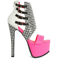 Xpress High #Heel #Shoes #Pink  open toe