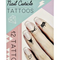Nail Cuticle tattoos