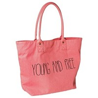 Mossimo Supply Co. Young and Free Tote Handbag - Coral