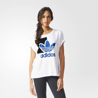 """Adidas"" Fashion Pattern Letter Short Sleeve T-shirt"