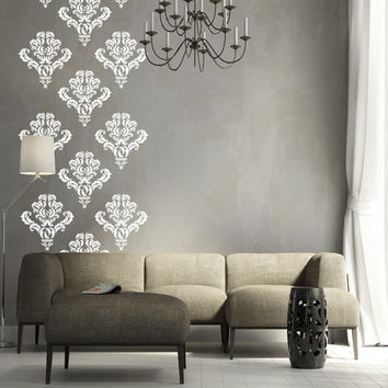 10 Damask Wall Decal Art Decor Stickers