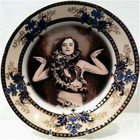 Antique Altered Plates