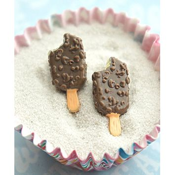 Popsicle Ice Cream Stud Earrings