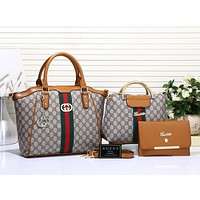 Best Gifts Gucci Women Leather Shoulder Bag Satchel Tote Handbag