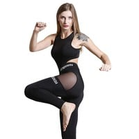 one piece set women suit for fitness outfit kit fitness yoga gym set womens pants exercise set P1156Y