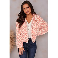 The Great Outdoors Faux Fur Jacket (Blush)