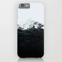 Those waves were like mountains iPhone & iPod Case by Robert Farkas