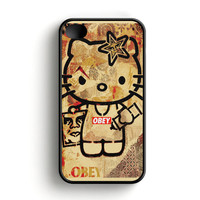 Obey Hello Kitty iPhone 4|4S Case