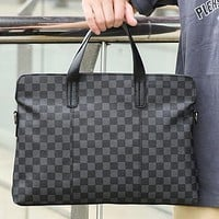 LV Fashion briefcase Portable portable laptop case cross body bag