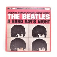 Vintage The Beatles A Hard Day's Night Soundtrack LP