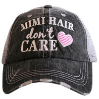 Katydid Mimi Hair Don't Care Trucker Hat
