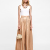 SPARKLY PALAZZO PANTS DETAILS