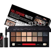 2014 New 14 color smash box full exposure palette make up eyeshadow kit set ,pro makeup shadows pinceis with brush