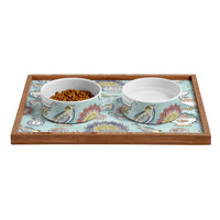 Heather Dutton Tea Time Pet Bowl and Tray